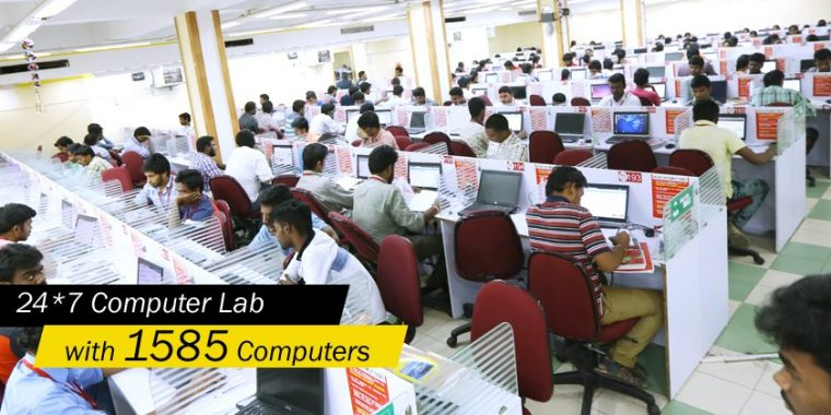 race bank and ssc exam coaching institute in bangalore - COMPUTER LAB