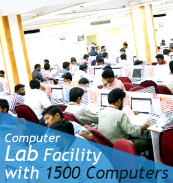 BEST BANK AND SSC EXAM COACHING INSTITUTE - COMPUTER LAB WITH 1800 COMPUTERS IN ALL BRANCHES