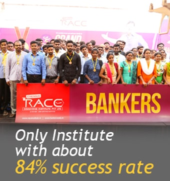 BEST BANK AND SSC EXAM COACHING INSTITUTE - ONLY INSTITUTE WITH 84% SUCCESS RATE