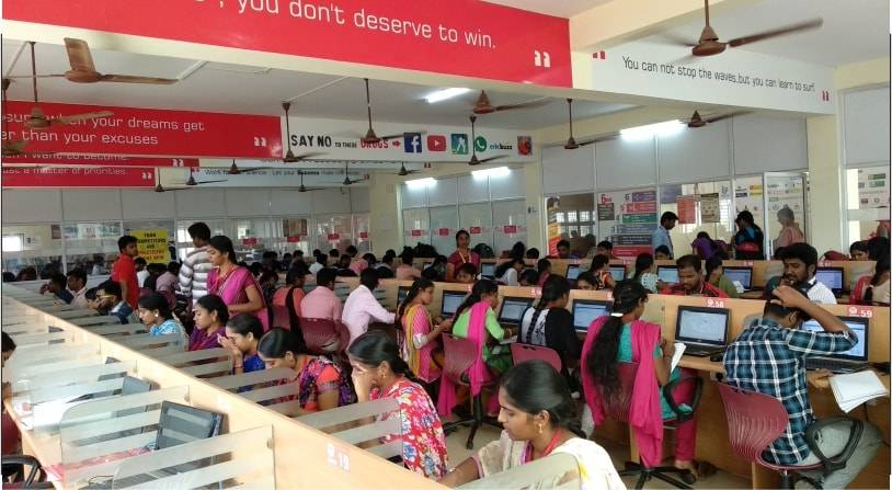 RACE INSTITUTE THANJAVUR BRANCH COMPUTER LAB ONLINE EXAM - TANJORE ADDRESS 2