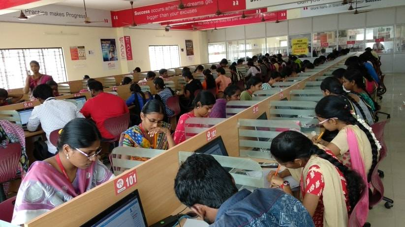 RACE INSTITUTE THANJAVUR BRANCH COMPUTER LAB ONLINE EXAM - TANJORE ADDRESS 3