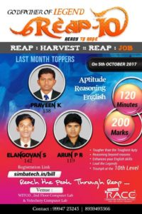REAP POSTER RACE INSTITUTE
