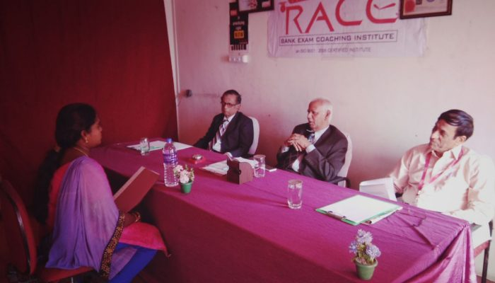 IBPS RRB MOCK INTERVIEW AT MADURAI AND TRICHY BRANCH RACE