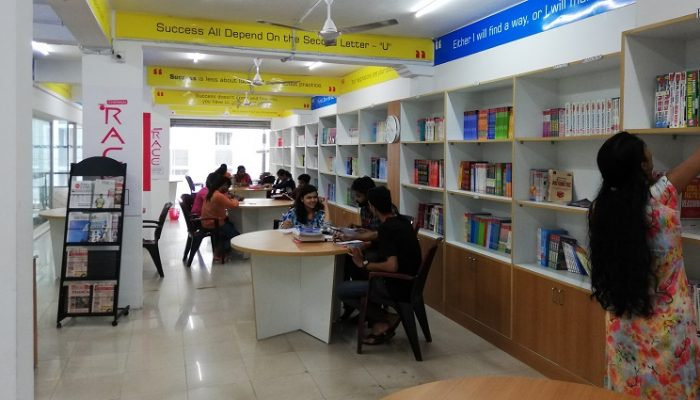 LIBRARY - RACE BANK SSC RAILWAY AND GOVT EXAM COACHING INSTITUTE IN COCHIN ERNAKULAM