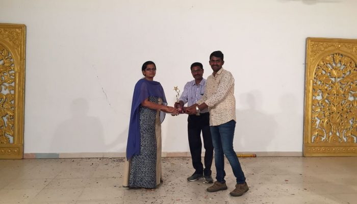 Best Mentor of the year 2017- Ms. Seetha-min