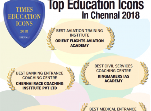 CHENNAI RACE INSTITUTE RECEIVED TIMES EDUCATION ICON AWARD - BEST