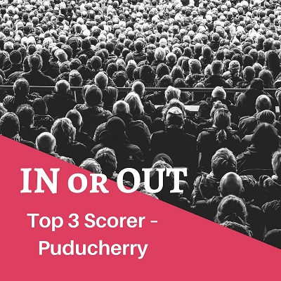 in or out event result puducherry