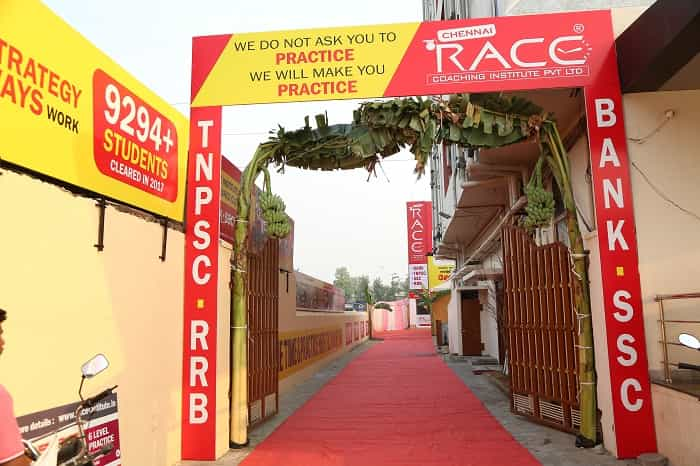 race institute vellore branch