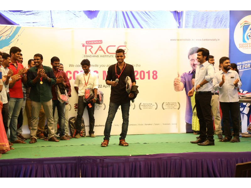 RACE INSTITUTE - BANK SSC RAILWAY IBPS SBI CGL CHSL TNPSC KPSC EXAM COACHING - SUCCESS MEET 2018 (24)