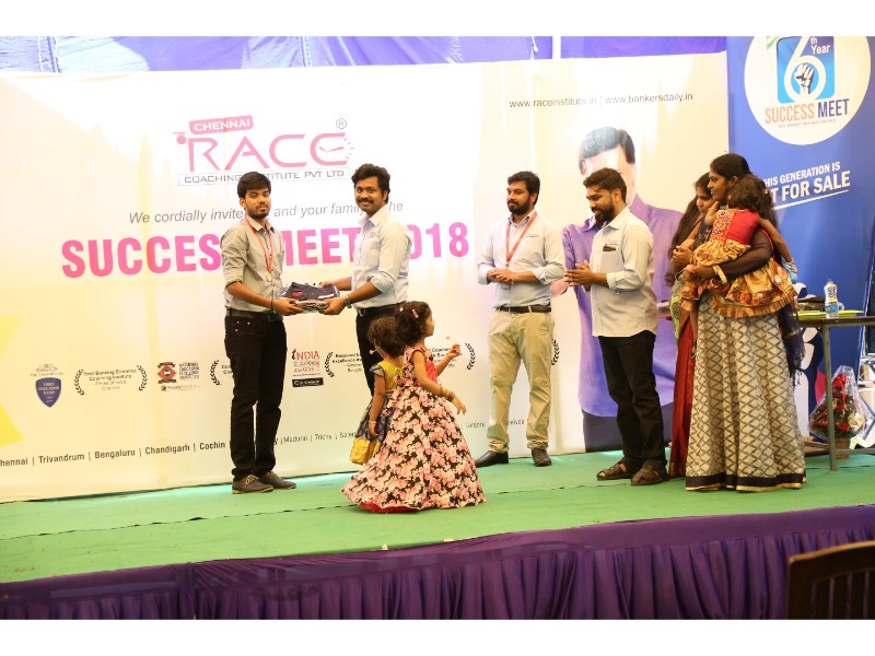 RACE INSTITUTE - BANK SSC RAILWAY IBPS SBI CGL CHSL TNPSC KPSC EXAM COACHING - SUCCESS MEET 2018 (25)