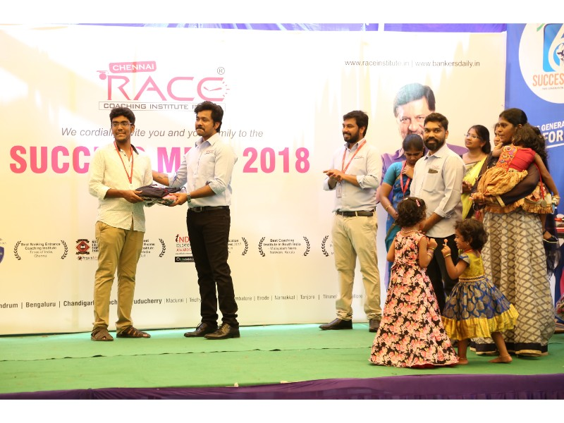 RACE INSTITUTE - BANK SSC RAILWAY IBPS SBI CGL CHSL TNPSC KPSC EXAM COACHING - SUCCESS MEET 2018 (26)