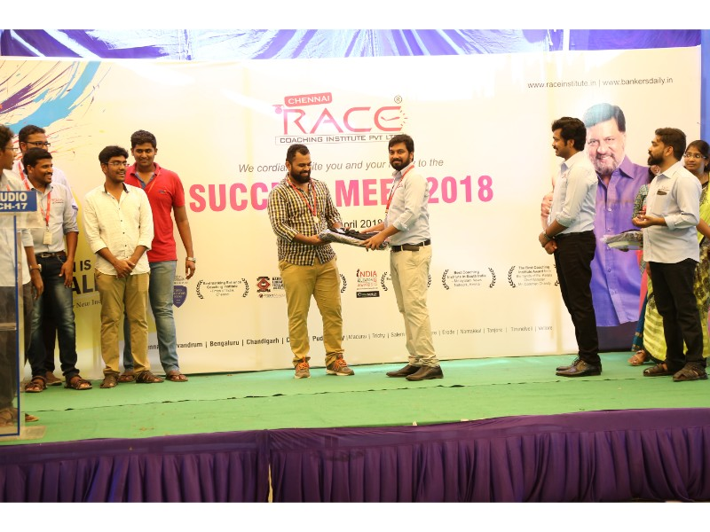 RACE INSTITUTE - BANK SSC RAILWAY IBPS SBI CGL CHSL TNPSC KPSC EXAM COACHING - SUCCESS MEET 2018 (27)