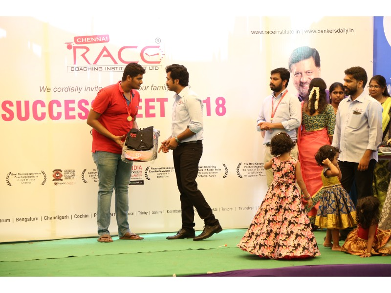 RACE INSTITUTE - BANK SSC RAILWAY IBPS SBI CGL CHSL TNPSC KPSC EXAM COACHING - SUCCESS MEET 2018 (28)