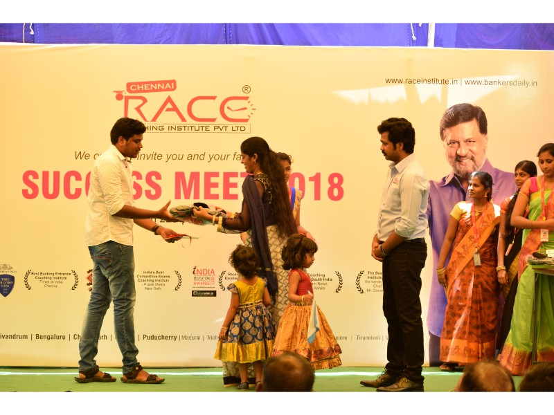 RACE INSTITUTE - BANK SSC RAILWAY IBPS SBI CGL CHSL TNPSC KPSC EXAM COACHING - SUCCESS MEET 2018 (33)
