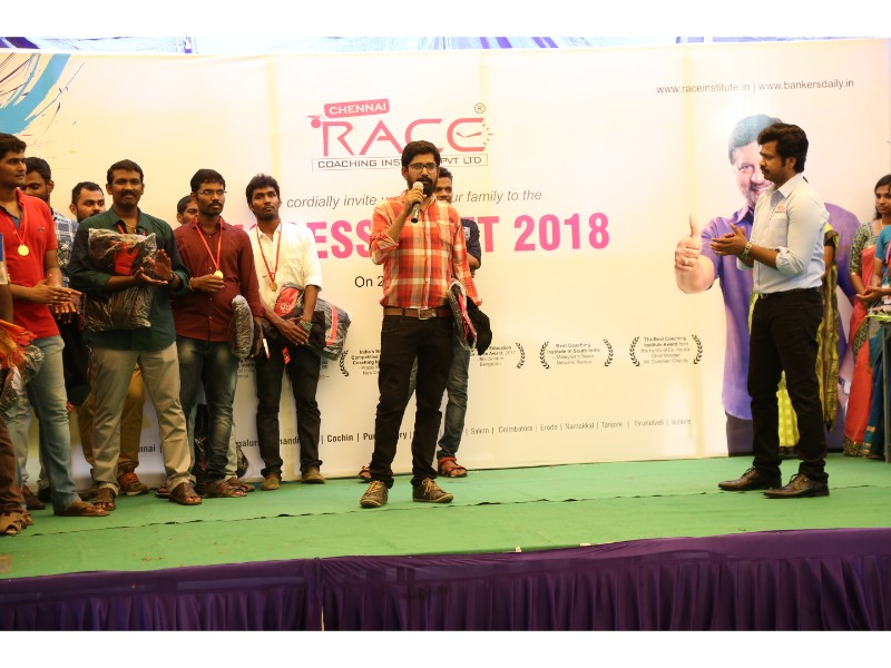 RACE INSTITUTE - BANK SSC RAILWAY IBPS SBI CGL CHSL TNPSC KPSC EXAM COACHING - SUCCESS MEET 2018 (35)