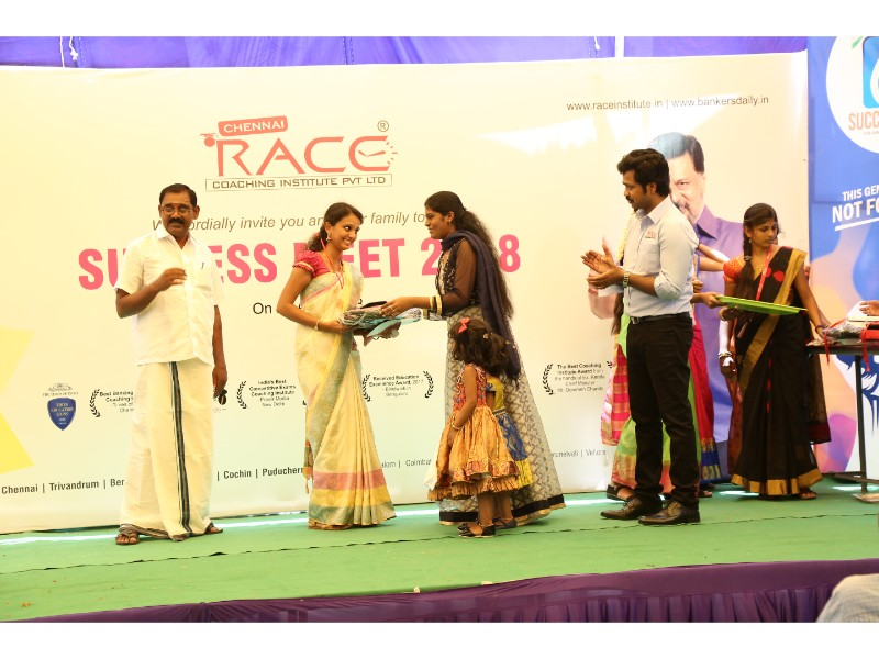 RACE INSTITUTE - BANK SSC RAILWAY IBPS SBI CGL CHSL TNPSC KPSC EXAM COACHING - SUCCESS MEET 2018 (37)