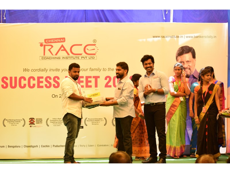 RACE INSTITUTE - BANK SSC RAILWAY IBPS SBI CGL CHSL TNPSC KPSC EXAM COACHING - SUCCESS MEET 2018 (41)