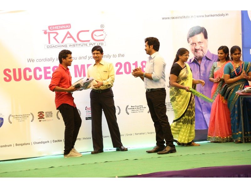 RACE INSTITUTE - BANK SSC RAILWAY IBPS SBI CGL CHSL TNPSC KPSC EXAM COACHING - SUCCESS MEET 2018 (43)