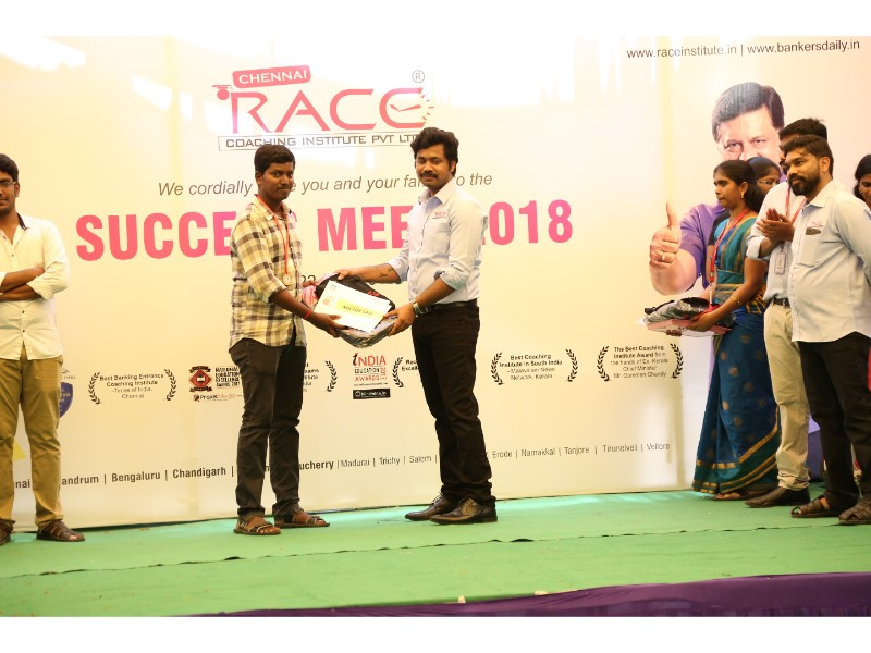 RACE INSTITUTE - BANK SSC RAILWAY IBPS SBI CGL CHSL TNPSC KPSC EXAM COACHING - SUCCESS MEET 2018 (54)