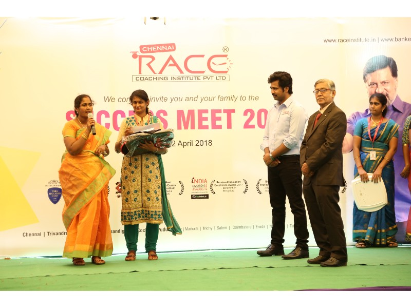 RACE INSTITUTE - BANK SSC RAILWAY IBPS SBI CGL CHSL TNPSC KPSC EXAM COACHING - SUCCESS MEET 2018 (57)