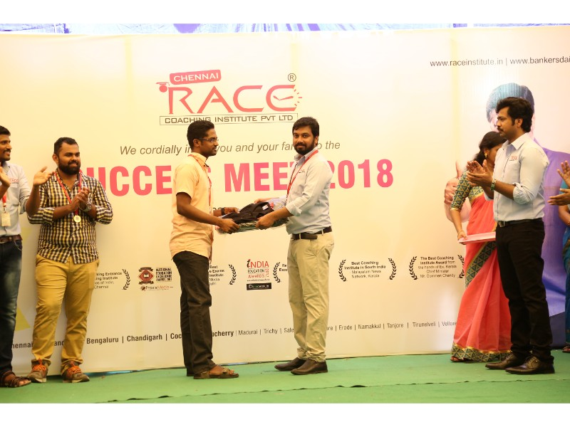 RACE INSTITUTE - BANK SSC RAILWAY IBPS SBI CGL CHSL TNPSC KPSC EXAM COACHING - SUCCESS MEET 2018 (59)