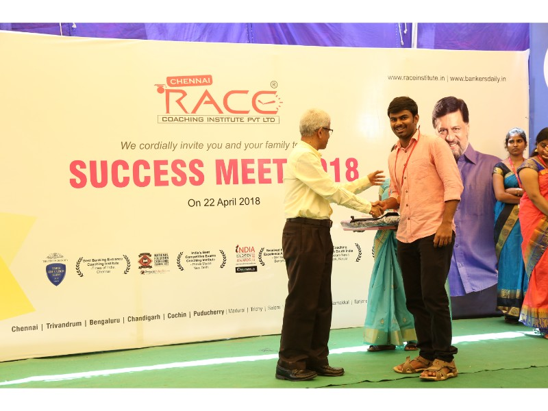 RACE INSTITUTE - BANK SSC RAILWAY IBPS SBI CGL CHSL TNPSC KPSC EXAM COACHING - SUCCESS MEET 2018 (70)
