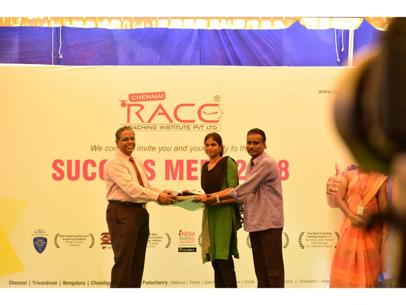 RACE INSTITUTE - BANK SSC RAILWAY IBPS SBI CGL CHSL TNPSC KPSC EXAM COACHING - SUCCESS MEET 2018 (80)