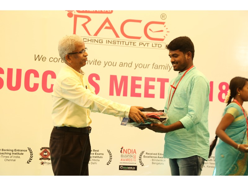 RACE INSTITUTE - BANK SSC RAILWAY IBPS SBI CGL CHSL TNPSC KPSC EXAM COACHING - SUCCESS MEET 2018 (82)
