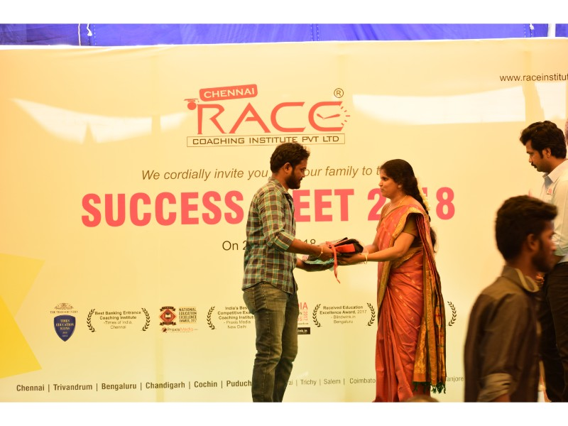 RACE INSTITUTE - BANK SSC RAILWAY IBPS SBI CGL CHSL TNPSC KPSC EXAM COACHING - SUCCESS MEET 2018 (83)