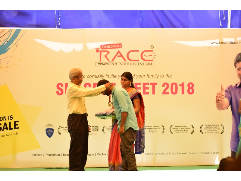 RACE INSTITUTE - BANK SSC RAILWAY IBPS SBI CGL CHSL TNPSC KPSC EXAM COACHING - SUCCESS MEET 2018 (85)