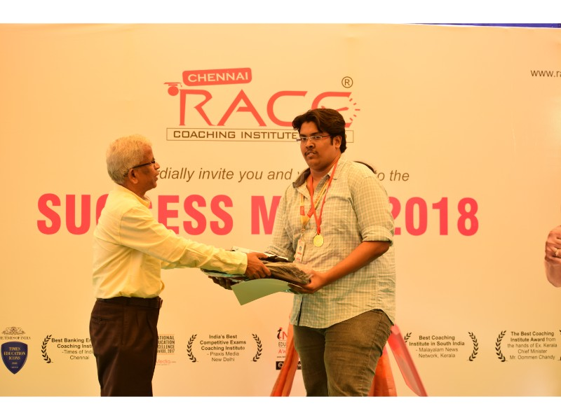 RACE INSTITUTE - BANK SSC RAILWAY IBPS SBI CGL CHSL TNPSC KPSC EXAM COACHING - SUCCESS MEET 2018 (93)
