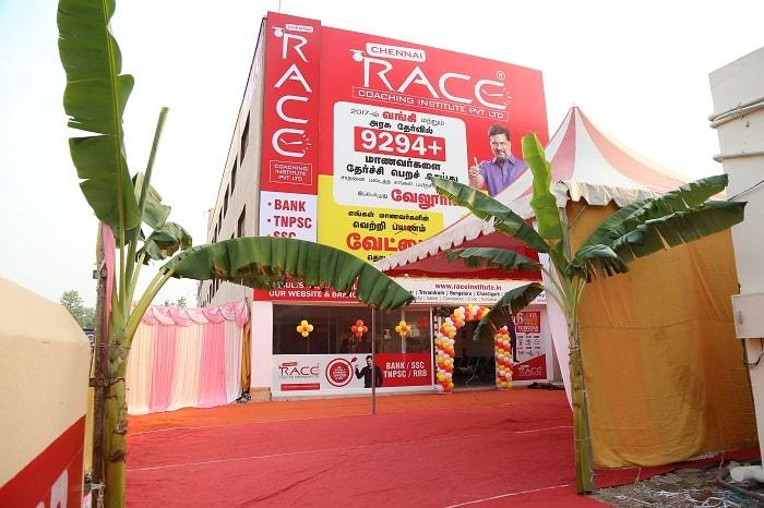 race institute vellore branch