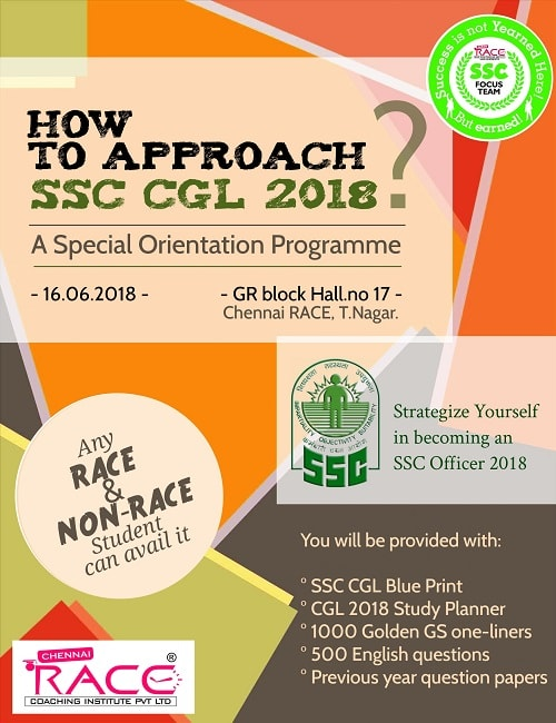 Most Prominent Way to approach SSC CGL Examination in 2018-min