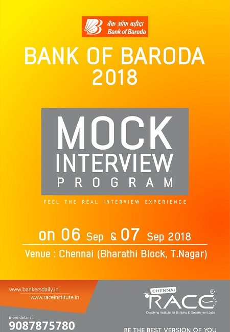 BOB PO Mock Interview Schedule 2018 – RACE Institute
