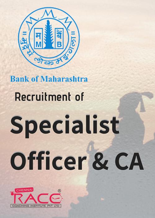 Bank of Maharashtra SO & Accountant Recruitment 2018