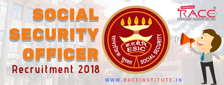 ESIC Social Security Officer (SSO) Recruitment 2018 – 539 Posts - notification-min
