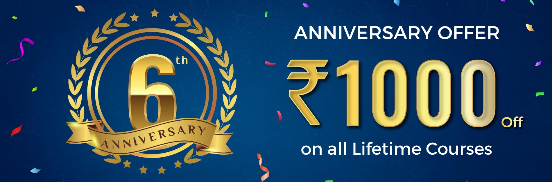 RACE INSTITUTE OFFER ON COURSE FEE - 6TH ANIVERSARY - BANK SSC COACHING