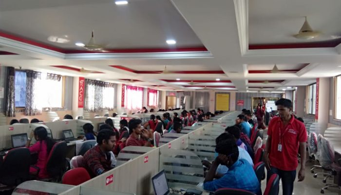RACE conducted RRB NTPC Full Length Model Test for NTPC Students (1)