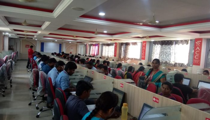 RACE conducted RRB NTPC Full Length Model Test for NTPC Students (2)