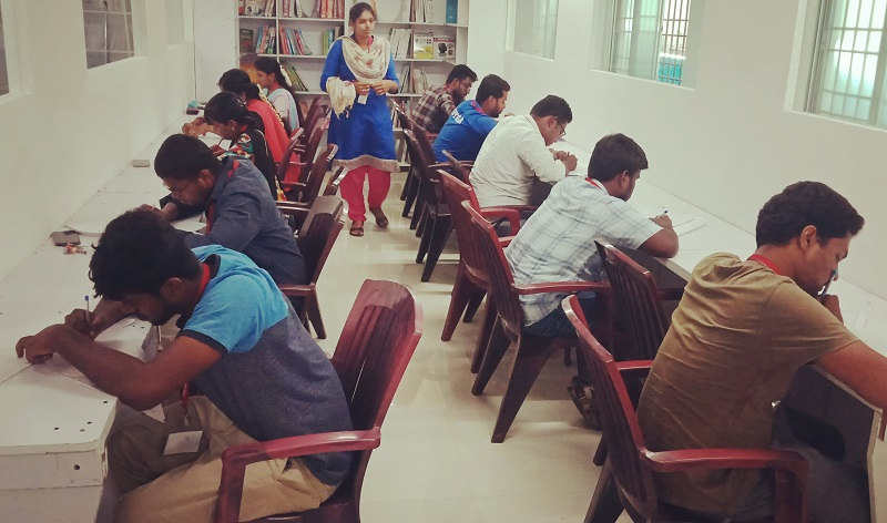 RACE conducted RRB NTPC Full Length Model Test for NTPC Students (3)