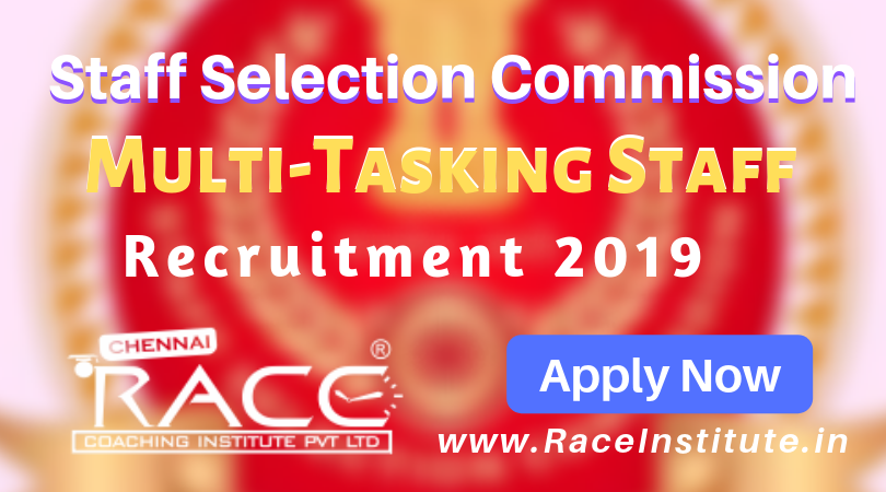 SSC MTS Recruitment 2019 – Notification - Apply Now