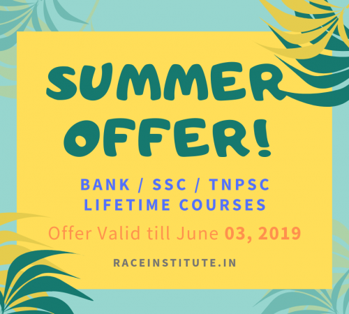 Summer OFFER - FLAT 500 RUPEES OFFER ON BANK SSC TNPSC LIFE TIME VALIDITY COURSE - BEST COACHING INSTITUTE - CHENNAI MADURAI - TRICHY - SALEM - COIMBATORE VELLORE-min