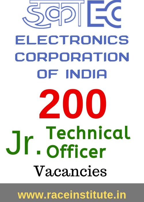 Electronics Corporation of India ECIL Juinor Technical Officer Recruitment 2019
