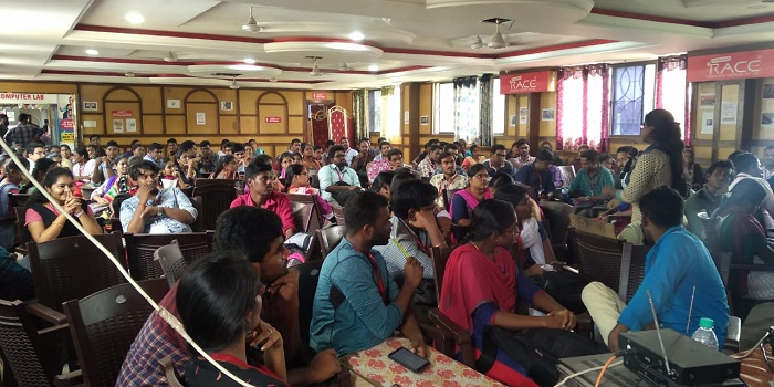 Current Affairs Quiz Event conducted in RACE Vellore branch